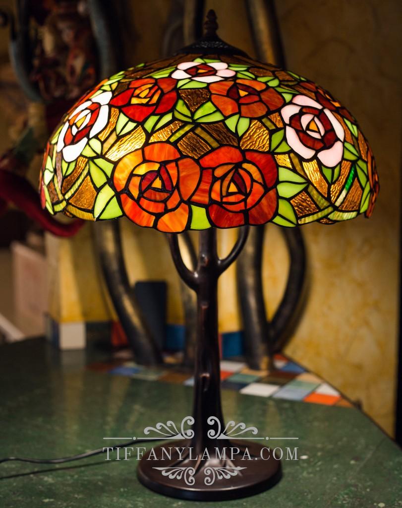 лампа светильник тиффани