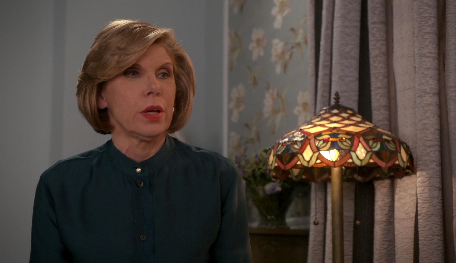 Лампа Тіффані в серіалі Хороша дружина