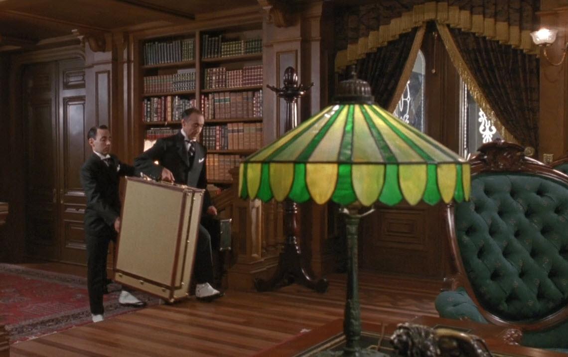 Лампа Тиффани в кино Оскар