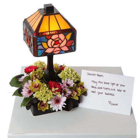 Лампа Тиффани в подарок