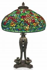 Оригинальная лампа Тиффани NASTURTIUM (Настурция)