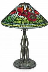 Оригінальна лампа Тіффані POPPY (Маки)
