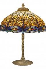 Подлинная лампа Тиффани DROPHEAD DRAGONFLY (Перевернутая Стрекоза)