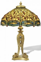 Подлинный светильник Тиффани DROPHEAD DRAGONFLY (Перевернутая Стрекоза)