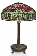 Оригинальная лампа Тиффани TULIP (Тюльпаны)