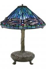Оригинальная настольная лампа Тиффани DRAGONFLY (Стрекоза)