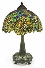 Оригінальна настільна лампа Тіффані LABURNUM (Рокитник)