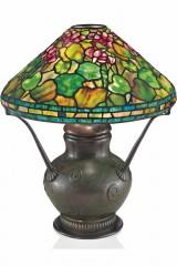 Настольная лампа Тиффани GERANIUM (Герань), оригинал
