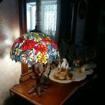 Настольная лампа Тиффани, за фото благодарим Татьяну