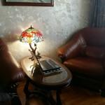 Настільна лампа Тіффані, фото прислала Тетяна