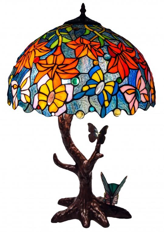 """Лампа Тіффані """"Танець метеликів"""""""