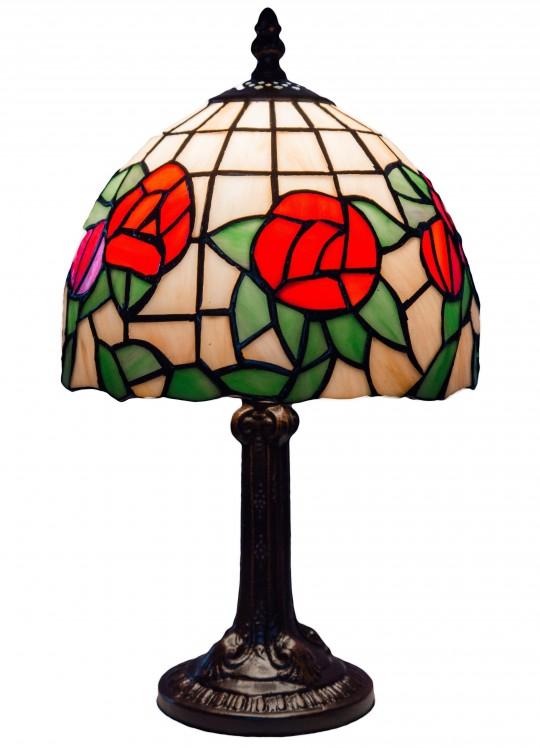 "Лампа Тиффани ""Букет роз"""