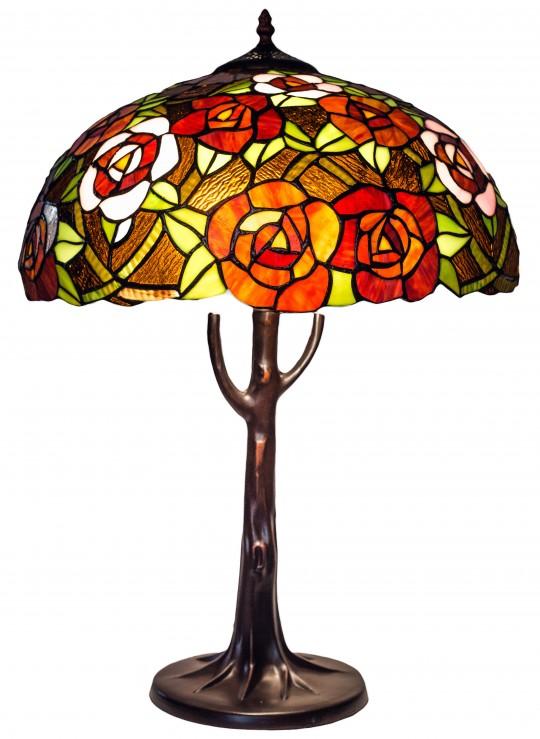 """Лампа Тиффани """"Дикая роза"""""""