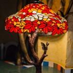 "Лампа Тиффани ""Осенний клен"""